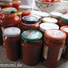 Tomatenpüree eingekocht