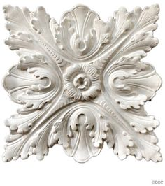 Decorators Supply is a historic manufacturer of ornate ceilings, ceiling medallions, crown mouldings, woodwork appliques and onlays and ornate wall panels Plaster Repair, Wood Carving Designs, Grisaille, Ceiling Medallions, Architectural Elements, Ceiling Design, Door Design, Sculpting, At Least