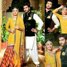 :mohabbat tumse nafrat he. Pakistani Wedding Photography, Pakistani Wedding Outfits, Pakistani Fashion Casual, Pakistani Dresses, Sangeet Outfit, Mehendi Outfits, Lovely Dresses, Beautiful Outfits, Ethenic Wear