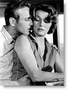 patricia neal and paul newman • hud