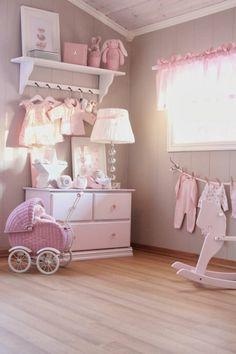 Babyzimmer deko mädchen  babyzimmer grau rosa alle farben der natur im kinderzimmer mädchen ...