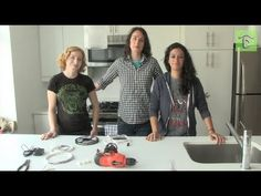 NO MAN'S LAND: Shelly and Anna install LED lights in their kitchen with help from special guest Becky of Adafruit Industries.
