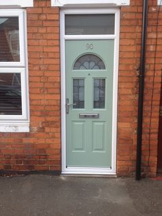 beautiful Rockdoor, definitely brightens the place up!  http://www.beeclear-windows.co.uk/  door, renovation, improvement, Newark,