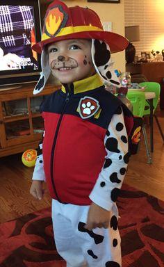 Paw Patrol Marshall Halloween costume