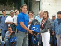 Atendiendo la necesidad de los trabajadores: UTTA entregó en marzo  mochilas y utiles escolares