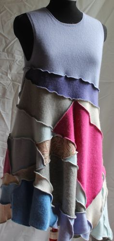 Upcycled cashmere - Inside Out by Irina