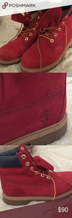 7 Best Red timberland boots images | Red timberland boots