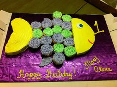 Cute little fish cake