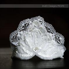 White Lace Crown #photo #prop