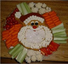 appetizer platters ideas   Vegetable Platter