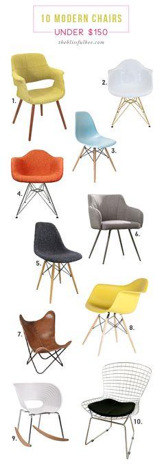 10 Modern Chairs Und
