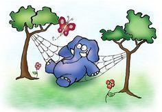 Letras de Canciones Infantiles - Un elefante se balanceaba