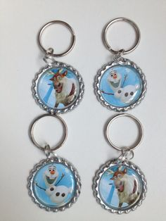 Olaf Keychain.. Boys frozen party favors..