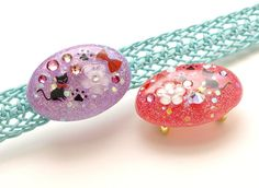 Obidome sash clip resin jewelry cat jewelry kimono obi by Aya1gou