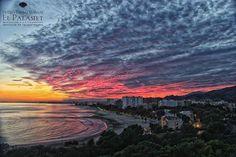 Fantástica vista desde el @palasiet. Bahía de #Benicasim.http://buff.ly/1Lli6AY