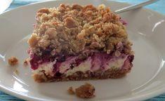Herkkuja leipomassa: Mustikkaiset sitruunajuustokakkupalat/ Blueberry L...