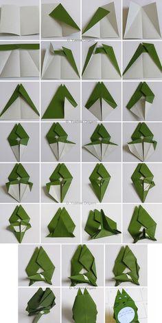 DIY Totoro. Origami