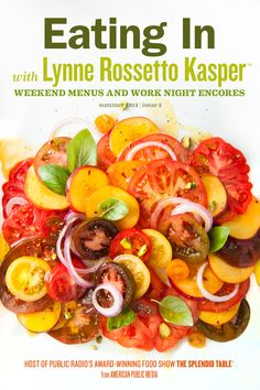 Eating In with Lynne Rossetto Kasper, Issue 2 $3.99
