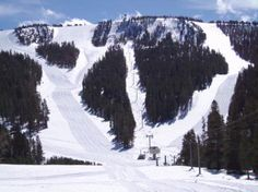 Mammoth Ski Slopes