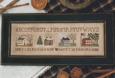 No Place Like Home - The Drawn Thread Designs