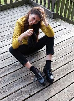 Shop Online: www.shop.nila-nila.com #fashionblogger #shoes #scarpe #zapatos #schoenen #chaussures #nilanila #fashion #moda #mode #fw2015 #ai2015 #madeinitaly READ MORE: http://www.angelichic.com/senape-il-colore-dellautunno-2015/#comment-98956
