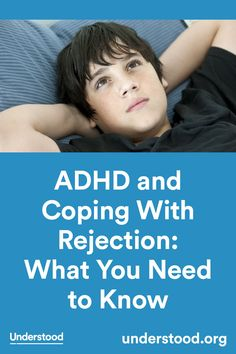 Trouble with managing emotions and self-esteem can make coping with rejection especially hard for kids with ADHD. There are ways to help your child get better at coping with rejection. Infp, Adhd Signs, Teen Depression, Adhd Help, Adhd And Autism, Autism Help, Aspergers Autism, Adhd Strategies, Adult Adhd