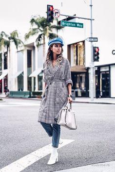 Уличная мода: Лучшие образы из модных блогов за неделю: Marianna Makela, Julia Engel, Leonie Hanne и другие