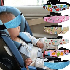 Safety Seat Sleep Positioner Infants and Baby Head Support