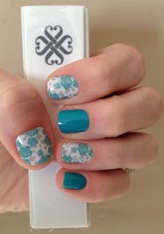 #Destiny and #Aquamarine (retired, current alternative #Athens) So much better than nail art!