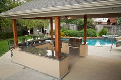 backyard patio landscaping kitchen ideas - WOW.com - Image Results