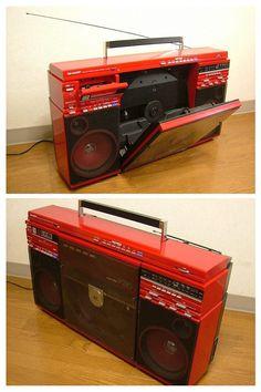 The ever-popular Sharp VZ-2500 (VZ-V20) boombox record player