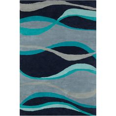 Filament  LLC Cinzia Blue Abstract Rug