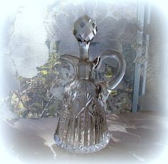 Vintage HOARE Signed Brilliant Cut Glass by LionheartGalleries
