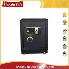 Hot sale electronic smart fireproof fingerprint key deposit safe box with factory price