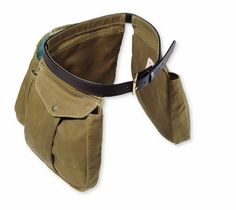 bird belt pouch   Filson Tin Cloth Shooting Bag