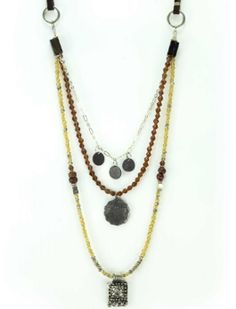 3's A Charm Neckl... just in at the Store with a Cause ....click here and check it out http://iboughtherfreedom.com/products/3s-a-charm-necklace-by-village-artisan
