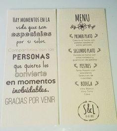Minutas Imprimibles   Preparar tu boda es facilisimo.com: