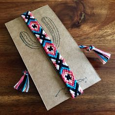 Southwest woven friendship bracelet