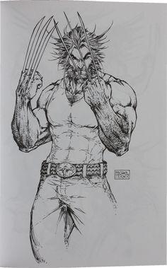 Wolverine, por Michael Turner