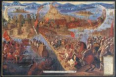 Cortez's Conquest of Tenochtitilan