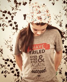 """""""I have failed over & over & over again, and that is why I succeed."""" • Michael Jordan"""