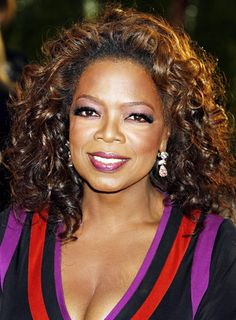 Oprah Winfrey looked radiant wearing voluminous spiraling curls at the 2007 Vanity Fair Oscar party in Hollywood.