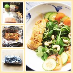 Quick and healthy Salmon parcel recipe Easy Food To Make, Vitamin D, Healthy Nutrition, Food Cravings, Nutritious Meals, Great Recipes, Salmon, Healthy Lifestyle, Healthy Living