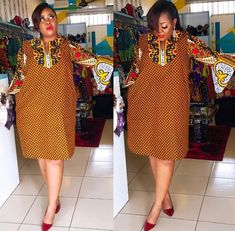 eyeka you love short dresses .all your dresses are so short. This one is not Short oh comman buy😁😁😁😁. Short African Dresses, Ankara Short Gown Styles, African Blouses, African Print Dresses, Ankara Gowns, Short Dresses, Ankara Dress, Dress Styles, African Fashion Ankara