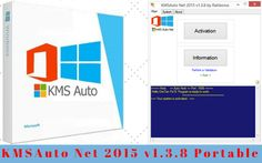 http://www.latesthackingsoftwares.com/ KMSAuto Net 2015 v1.3.8 Portable