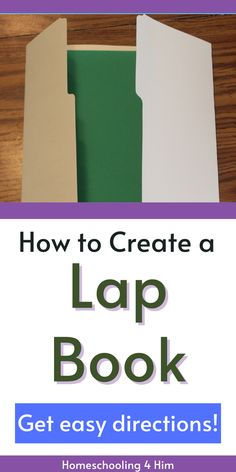 How to Create a Lap Book