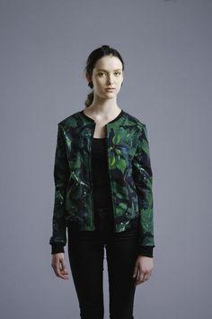 Green Leaves -bomber