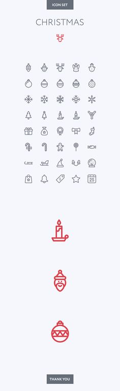 Xmas icon set on Behance