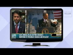 Jindal: ObamaCare Canceled Nearly Half of Louisiana Insurance Policies
