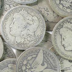 Morgan Silver Dollar 1878-1904 Almost Good [1-MORGAN-1878-1904]: Aydin Coins & Jewelry, Buy Gold Coins, Silver Coins, Silver Bar, Gold Bullion, Silver Bullion - Aydincoins.com